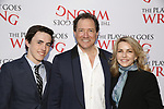Kevin McCollum and Lynnette Perry with so attends 'The Play That Goes Wrong' Broadway Opening Night at the Lyceum Theatre on April 2, 2017 in New York City.