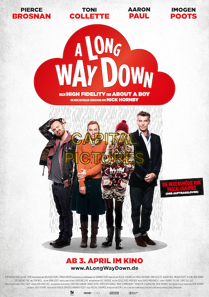 GERMAN POSTER ART<br /> in A Long Way Down (2014) <br /> *Filmstill - Editorial Use Only*<br /> CAP/FB<br /> Image supplied by Capital Pictures