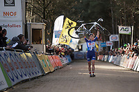 7th consecutive National CX Title for the victorious Sanne Cant (BEL/Enertherm-BKCP)<br /> <br /> 2016 Belgian National CX Championships