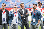 FC Barcelona's coach Luis Enrique Martinez before Copa del Rey (King's Cup) Final between Deportivo Alaves and FC Barcelona at Vicente Calderon Stadium in Madrid, May 27, 2017. Spain.<br /> (ALTERPHOTOS/BorjaB.Hojas)