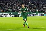 11.02.2018, Weserstadion, Bremen, GER, 1.FBL, SV Werder Bremen vs VfL Wolfsburg<br /> <br /> im Bild<br /> Aron J&oacute;hannsson / Johannsson (Werder Bremen #9) bejubelt 1:0 von Ludwig Augustinsson (Werder Bremen #5) (nicht im Bild),  <br /> <br /> Foto &copy; nordphoto / Ewert