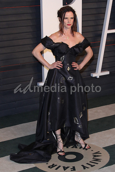 28 February 2016 - Beverly Hills, California - Juliette Lewis. 2016 Vanity Fair Oscar Party hosted by Graydon Carter following the 88th Academy Awards held at the Wallis Annenberg Center for the Performing Arts. Photo Credit: AdMedia