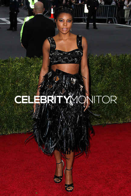 "NEW YORK CITY, NY, USA - MAY 05: Gabrielle Union at the ""Charles James: Beyond Fashion"" Costume Institute Gala held at the Metropolitan Museum of Art on May 5, 2014 in New York City, New York, United States. (Photo by Xavier Collin/Celebrity Monitor)"