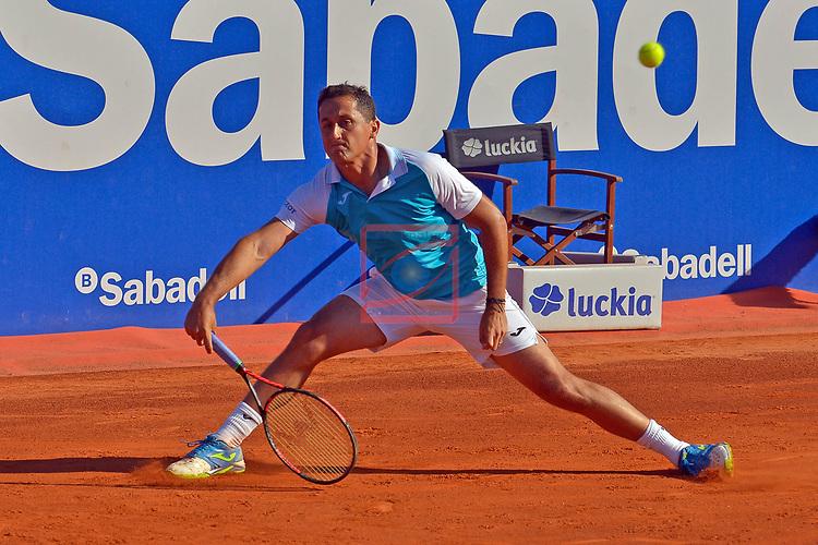 65e Trofeu Conde de Godo.<br /> Barcelona Open Banc Sabadell.<br /> Nicolas Almagro (ESP) vs Steven Diez (CAN): 6-3, 6-4.