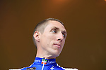 Dan Martin (IRL) Quick-Step Floors team on stage at the Team Presentation in Burgplatz Dusseldorf before the 104th edition of the Tour de France 2017, Dusseldorf, Germany. 29th June 2017.<br /> Picture: Eoin Clarke | Cyclefile<br /> <br /> <br /> All photos usage must carry mandatory copyright credit (&copy; Cyclefile | Eoin Clarke)
