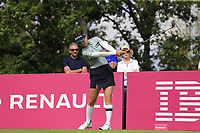 So Yeon Ryu (KOR) tees off the 5th tee during Friday's Round 2 of The Evian Championship 2018, held at the Evian Resort Golf Club, Evian-les-Bains, France. 14th September 2018.<br /> Picture: Eoin Clarke | Golffile<br /> <br /> <br /> All photos usage must carry mandatory copyright credit (&copy; Golffile | Eoin Clarke)