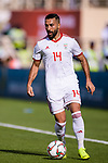 Seyed Saman Ghoddoos of Iran in action during the AFC Asian Cup UAE 2019 Group D match between Vietnam (VIE) and I.R. Iran (IRN) at Al Nahyan Stadium on 12 January 2019 in Abu Dhabi, United Arab Emirates. Photo by Marcio Rodrigo Machado / Power Sport Images