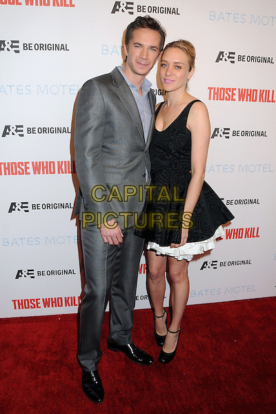 26 February 2014 - Hollywood, California - James D'Arcy, Chloe Sevigny. &quot;Bates Motel&quot; Season 2 and &quot;Those Who Kill&quot; Premiere Party held at Warwick. <br /> CAP/ADM/BP<br /> &copy;Byron Purvis/AdMedia/Capital Pictures