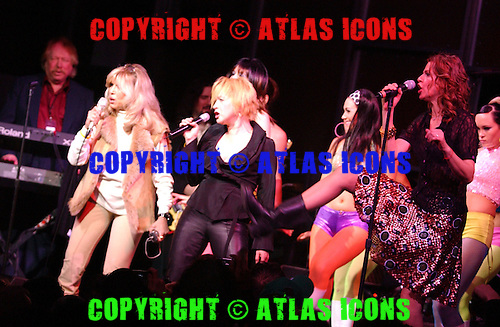 Cyndi Lauper; Nancy Sandra Sinatra; Sandra Bernhard, In New York City,<br /> Photo Credit: Eddie Malluk/Atlas Icons.com
