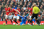 Adam Johnson of Sunderland appeals for a penalty - Manchester United vs. Sunderland - Barclay's Premier League - Old Trafford - Manchester - 28/02/2015 Pic Philip Oldham/Sportimage