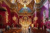 Frankreich, Provence-Alpes-Côte d'Azur, Menton: Chapelle de l'Immaculée-Conception - innen | France, Provence-Alpes-Côte d'Azur, Menton: Chapelle de l'Immaculée-Conception - interior