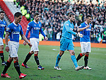 Rangers dejection as the players troop off