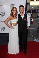 """Challen Cates, Aaron McPherson<br /> at the """"A Million Ways To Die In The West"""" World Premiere, Village Theater, Westwood, CA 05-15-14<br /> David Edwards/Dailyceleb.com 818-249-4998"""