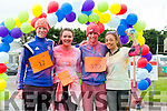 The Sports Therapy First Year students end of year Colour Fun Day 5km Run in Aid of  'Tralee No Name Youth Club', a local charity for young people which provides an alternative to pub culture for young people in Ireland Cillian Moran, Louise Doyle,  Jamie Griffin, Siobhan McCarthy