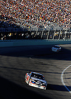 Nov. 16, 2008; Homestead, FL, USA; NASCAR Sprint Cup Series driver Dale Earnhardt Jr during the Ford 400 at Homestead Miami Speedway. Mandatory Credit: Mark J. Rebilas-