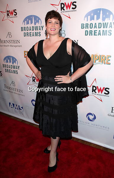 "Lisa Howard attending the Broadway Dreams Foundation's ""Champagne & Caroling Gala"" at Celsius at Bryant Park, New York, 10.12.2012...Credit: McBride/face to face"