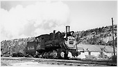 D&amp;RGW C-18 #319 switching at Dolores.<br /> RGS  Dolores, CO  Taken by Peyton, Ernie S. - 3/1949