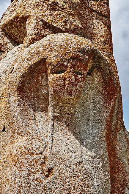 Pictures & Images of the Sphinx gate Hittite sculpture, Alaca Hoyuk (Alacahoyuk) Hittite archaeological site  Alaca, Çorum Province, Turkey, Also known as Alacahüyük, Aladja-Hoyuk, Euyuk, or Evuk