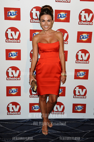 Adele Silva arriving for the 2011 TVChoice Awards, at The Savoy, London. 13/09/2011 Picture by: Steve Vas / Featureflash