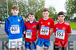 At the CBS, The Green Fun Run on Sunday were Denis Moriarty, Luke McCaffrey McGill, Des Brosnan and Adam Walker