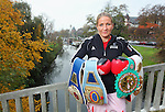 15.11.2014., Frankfurt, Germany - Nikolina Orlova, known as Nikki Adler, the German boxer is of Croatian descent, the current world champion to the WBU and European champion in the WIBF super middleweight<br /> <br /> Foto &copy;  nph / PIXSELL / Tomislav Miletic