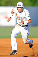 5 May 2012:  FIU outfielder Nathan Burns (6) runs to third base as the FIU Golden Panthers defeated the Middle Tennessee State University Blue Raiders, 12-6, at University Park Stadium in Miami, Florida.
