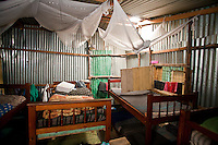 Nairobi, June 2010 -  sleeping quarters at the Agape  hope center.
