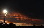 FUDBAL, BEOGRAD, 5. Jun 2010. - Nebo nad stadionom Partizana. Prijateljska utakmica izmedju Srbije i Kameruna odigrana u okviru priprema za Svetsko prvenstvo u Juznoj Africi. Foto: Nenad Negovanovic