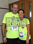 Adrian and patricia Sharkey who took part in the Seamie Weldon 5K Run in Ardee. Photo:Colin Bell/pressphotos.ie