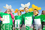 GREEN: Donning the green at the St Patrick's Day Parade in Milltown were l-r: Anne Marie Ladden, Tara Aherne, Lauren Ashe, Quinn Dwyer of St Joseph's School in Castlemaine.