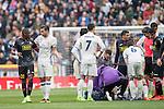 Real Madrid vs RCD Espanyol, a La Liga match at the Santiago Bernabeu Stadium on 18 February 2017 in Madrid, Spain. Photo by Diego Gonzalez Souto / Power Sport Images