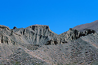 Death Valley National Park, California, CA, USA - View of Eroded Mountains, from Zabriskie Point in the Amargosa Range