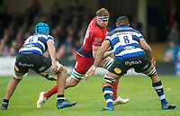 Worcester Warriors' Gerrit-Jan van Velze in action during todays match<br /> <br /> Photographer Bob Bradford/CameraSport<br /> <br /> Aviva Premiership - Bath Rugby v Worcester Warriors - Saturday 7th October 2017 - The Recreation Ground - Bath<br /> <br /> World Copyright &copy; 2017 CameraSport. All rights reserved. 43 Linden Ave. Countesthorpe. Leicester. England. LE8 5PG - Tel: +44 (0) 116 277 4147 - admin@camerasport.com - www.camerasport.com