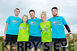 At the Banna Beach Beast Challenge on Saturday were Andrew Garczynsky, Jane Sheehan, Josh Lowhan, Melanie Clancy and Darrell Byrne