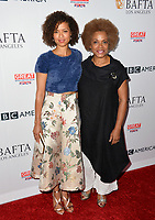Gugu Mbatha-Raw &amp; Guest at the BAFTA Los Angeles BBC America TV Tea Party 2017 at The Beverly Hilton Hotel, Beverly Hills, USA 16 September  2017<br /> Picture: Paul Smith/Featureflash/SilverHub 0208 004 5359 sales@silverhubmedia.com