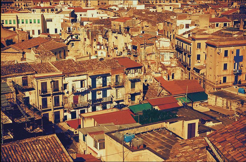 The area of historical market Ballaro'di Palermo.<br /> Il quartiere storico del mercato Ballaro' di Palermo.