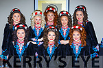 Competing in the All Ireland finals  in the INEC on Saturday were front row l-r: Shona Gleeson Gneeveguilla, Sarah Randles Killarney, Rachel Moynihan Killarney. Back row: Rocha Clifford Killarney, Robyn O'Doherty Faha, Leah Moynihan Killarney, Kate Rudden Killarney and Rachel McGillicuddy Gneeveguilla
