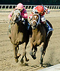 Blind Luck & Havre de Grace in a stretch duel in The Delaware Handicap (gr2)  on 7/16/11