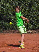 Hilversum, Netherlands, August 7, 2017, National Junior Championships, NJK, Rein Koenders<br /> Photo: Tennisimages/Henk Koster