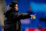 Kitchee SC Head Coach Chu Chi Kwong Alex talks during their AFC Champions League 2017 Playoff Stage match between Ulsan Hyundai FC (KOR) vs Kitchee SC (HKG) at the Ulsan Munsu Football Stadium on 07 February 2017 in Ulsan, South Korea. Photo by Chung Yan Man / Power Sport Images