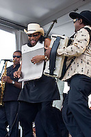 Rockin Dopsie Jr. at Jazz Fest 2009