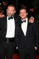 VINCENT CASSEL AND GASPARD ULLIEL - RED CARPET OF THE FILM 'JUSTE LA FIN DU MONDE' AT THE 69TH FESTIVAL OF CANNES 2016
