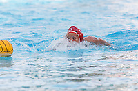 Stanford, CA - April 28, 2019: Makenzie Fischer during the Stanford vs USC MPSF Women's Water Polo Championship Sunday at the Avery Aquatic Center.<br /> <br /> No. 1 Stanford lost the MPSF Championship in sudden death to the No. 2 Trojans, 9-8.