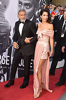 HOLLYWOOD, CA - JUNE 07: George Clooney (L) and Amal Clooney arrive at the American Film Institute's 46th Life Achievement Award Gala Tribute To George Clooney at the Dolby Theatre on June 7, 2018 in Hollywood, California.<br /> CAP/ROT/TM<br /> &copy;TM/ROT/Capital Pictures
