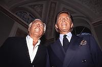 Valentino e Giorgio Armani