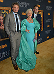 "Jason Clarke, Helen Mirren, Philip Martin 038 attends the Los Angeles Premiere Of The New HBO Limited Series ""Catherine The Great"" at The Billy Wilder Theater at the Hammer Museum on October 17, 2019 in Los Angeles, California."