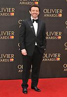 Michael Sheen at the Olivier Awards 2018, Royal Albert Hall, Kensington Gore, London, England, UK, on Sunday 08 April 2018.<br /> CAP/CAN<br /> &copy;CAN/Capital Pictures<br /> CAP/CAN<br /> &copy;CAN/Capital Pictures