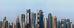 Cityscape of Doha Qatar