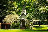 Church at Four Seasons Lodge at Koele. Lanai, Hawaii.