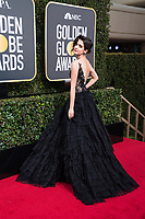 Laura Marano arrives at the 75th Annual Golden Globe Awards at the Beverly Hilton in Beverly Hills, CA on Sunday, January 7, 2018.<br /> *Editorial Use Only*<br /> CAP/PLF/HFPA<br /> &copy;HFPA/Capital Pictures